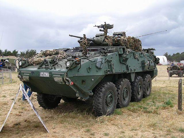 Canadian Army's light armoured vehicle III (LAV III)
