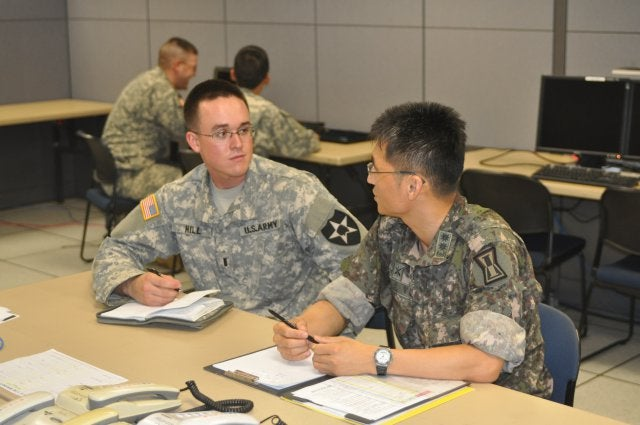 US and the Republic of Korea (ROK) personnel