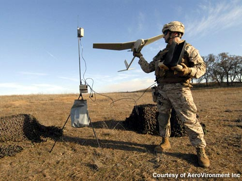 RQ-11 Raven small unmanned aircraft system