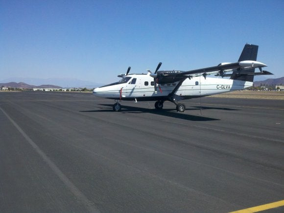 UV-18C Twin Otter short takeoff and landing utility aircraft