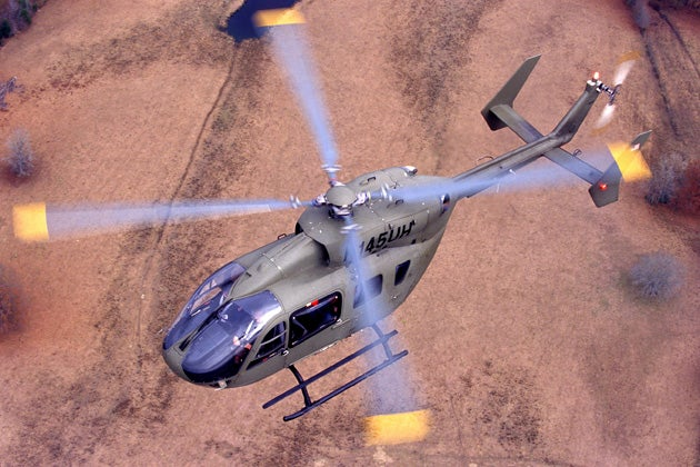 EC145 helicopter