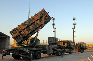 Patriot air and missile defense system