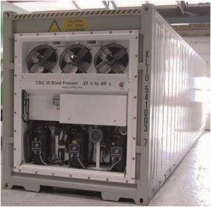 Blast Freezer, Model CBU-30