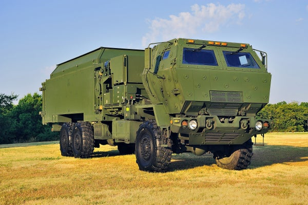 MEADS launcher