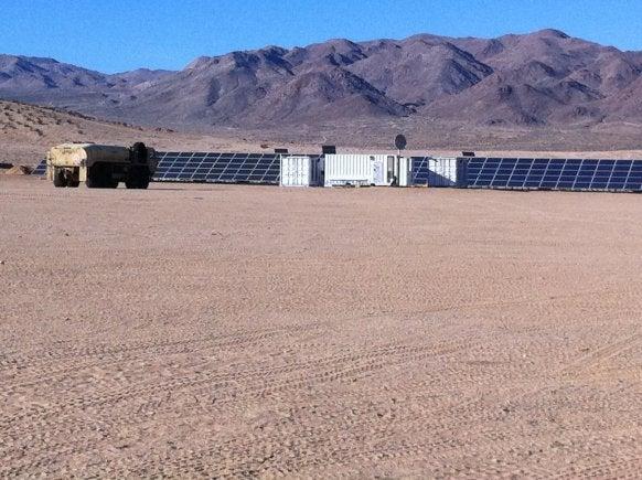 US Army microgrid