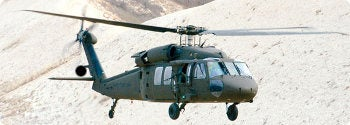 UH-60M Black Hawk helicopter