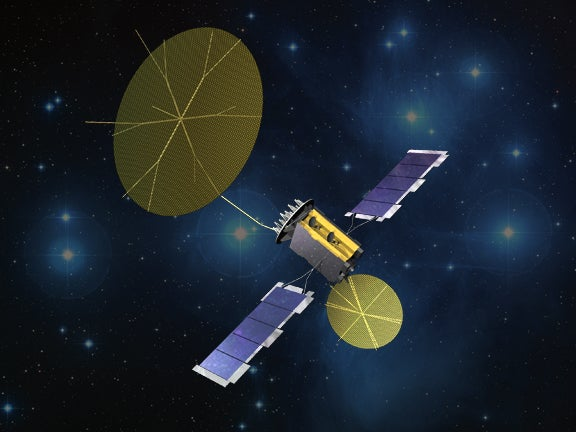 MUOS satellite