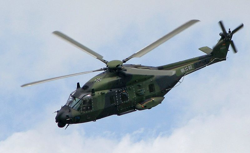 NH90 tactical transport helicopter