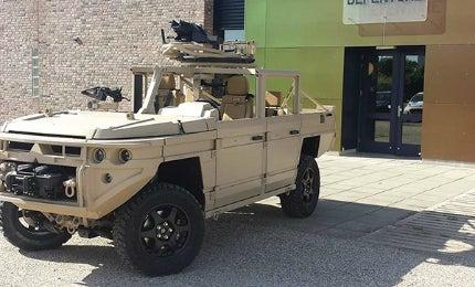 ATTV vehicle