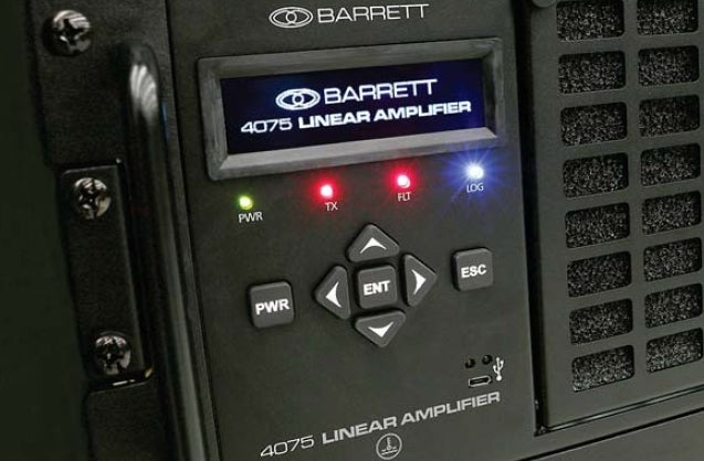 Barrett 4075 high-power 1kw HF transmitter