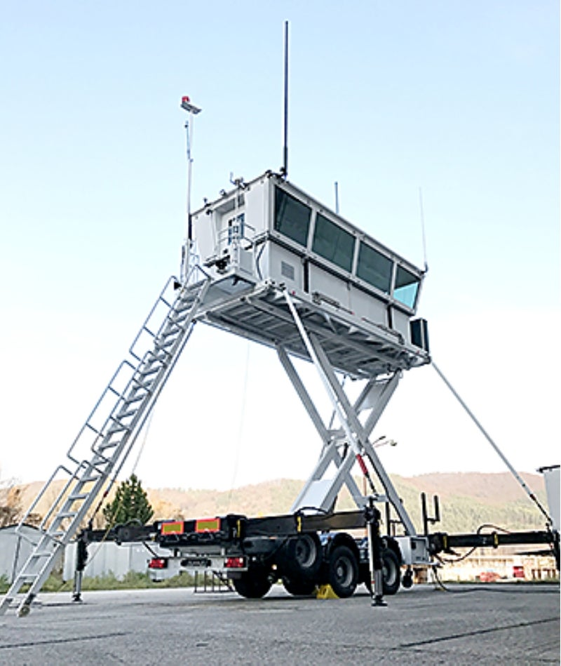 Barrett provides HF radio equipment for armoured mobile air traffic control towers