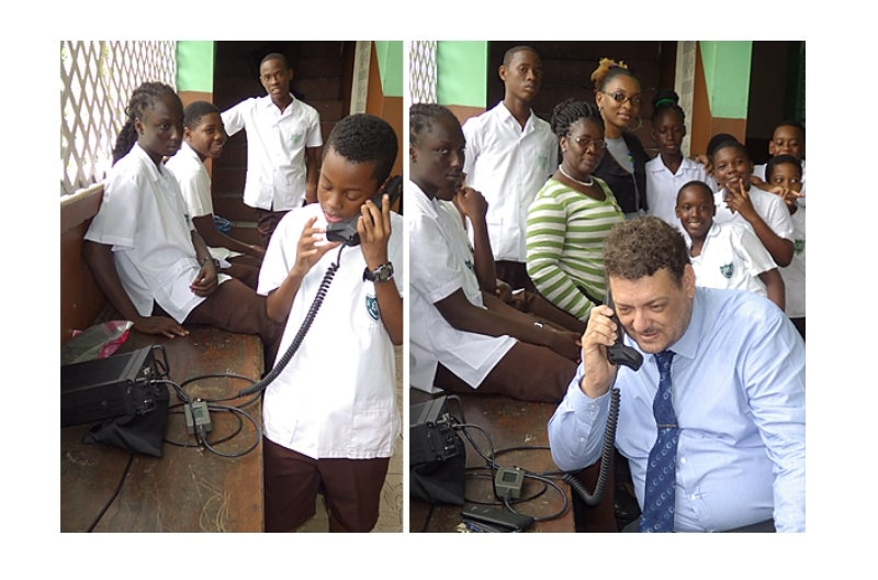 Barrett shares radio communications with next generation