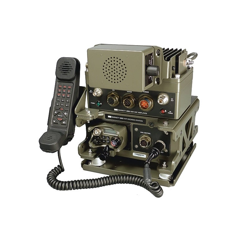 Barrett Tactical VHF Mobile