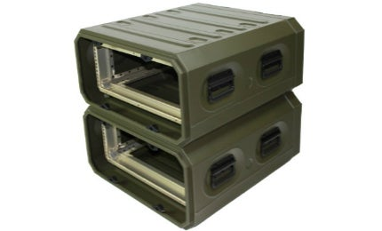Special mounts protect against shock and the rack is up to 30% lighter than most other rack cases.