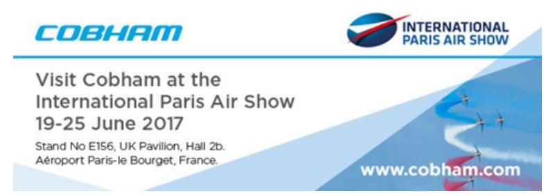 Cobham to exhibit at International Paris Air Show 2017