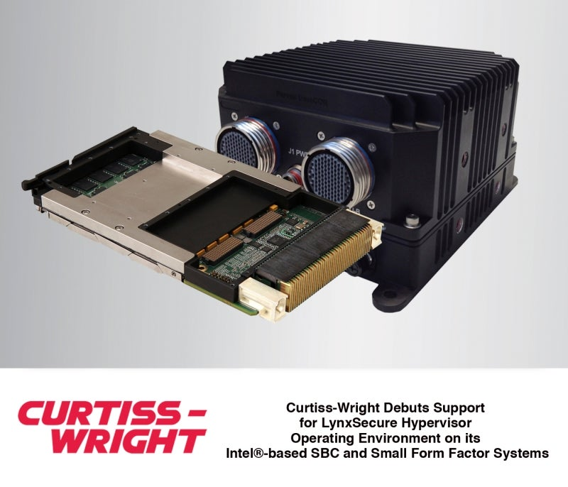 Curtiss-Wright debuts support for LynxSecure hypervisor operating environment