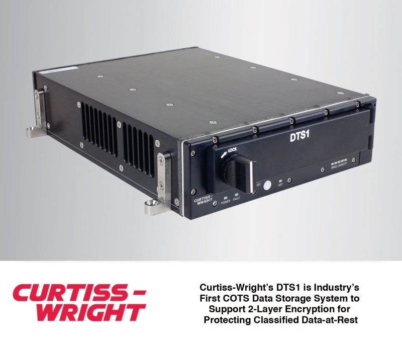Curtiss announced first COTS DAR storage solution to support 2-layer encryption