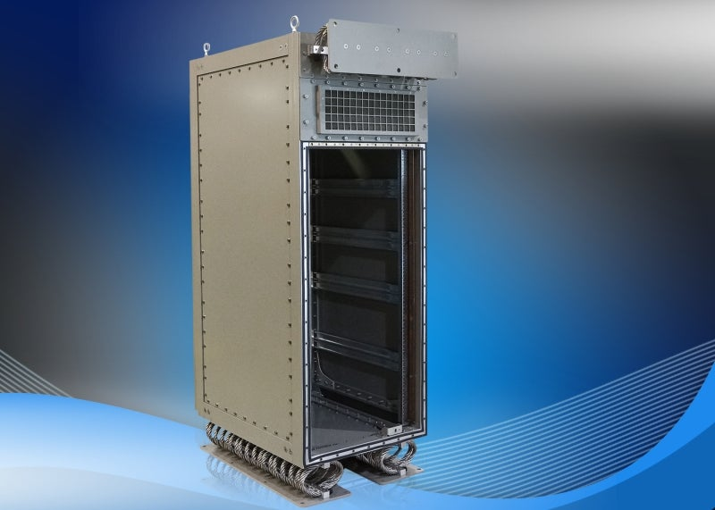 MB series of rugged cabinets feature modular bolted construction