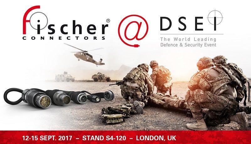 Fischer at DSEI 2017