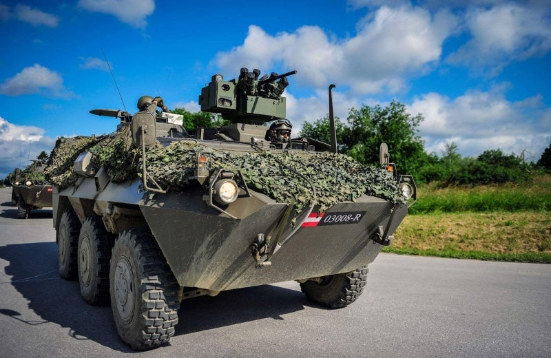GDELS to supply 34 PANDUR 6x6 vehicles to Austria