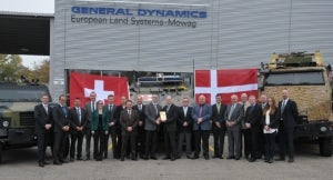 GDELS awarded framework contract to service Danish Army