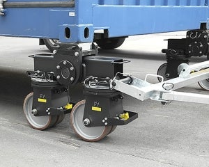 New 32 tonne container roller sets ISO containers