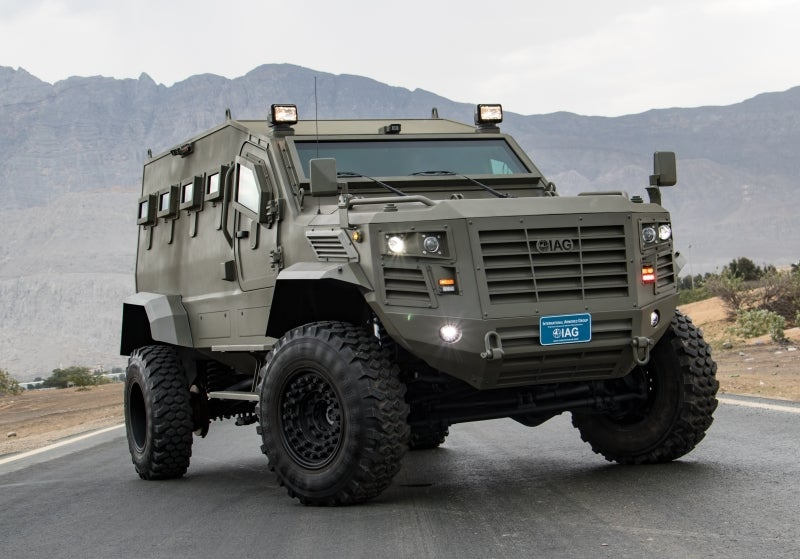 Tactical armored vehicles