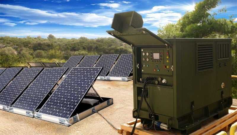 New hybrid technology system for defence applications
