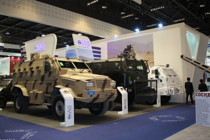 IAG presents new line of military tactical vehicles
