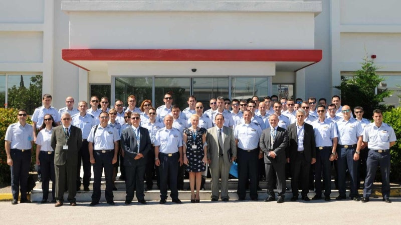 Hellenic air force command and staff college visit IDE