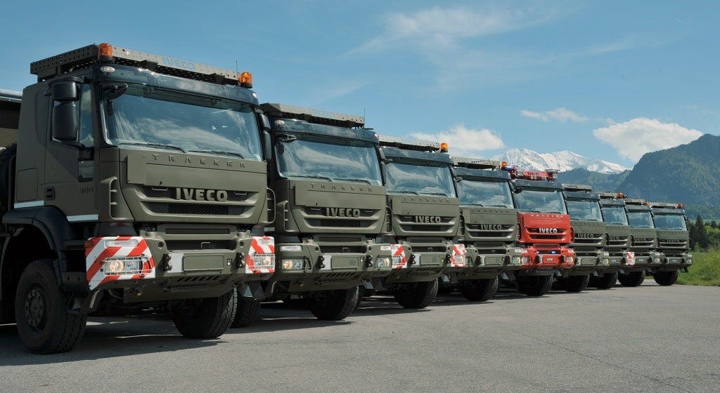 IVECO delivers the first units of its New Generation Vehicles to the Swiss Army.