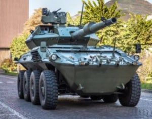 Iveco present Centauro II at Eurosatory 2016