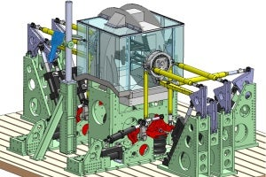 steered axle test bench