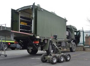 Irish defence forces take delivery of more EOD vehicles