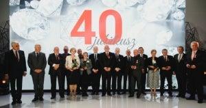 PCO celebrates 40th anniversary