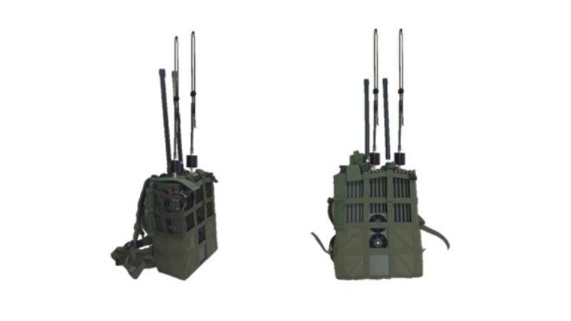 Phantom presents latest tactical jammer MP808 portable man pack jammer
