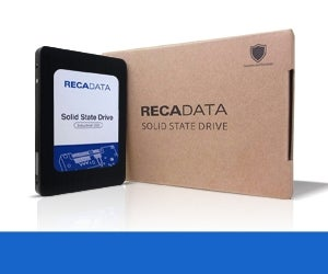 Recadata announced volume production of 2TB models