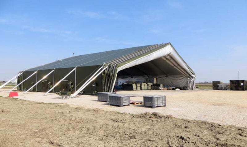 Aircraft hangars and maintenance shelters