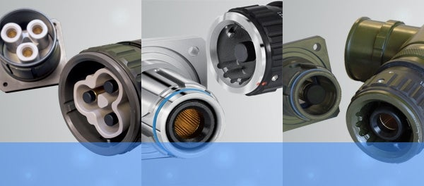 High-power connectors
