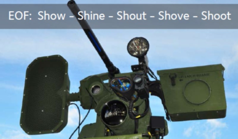 LRAD 450XL long-range communications system