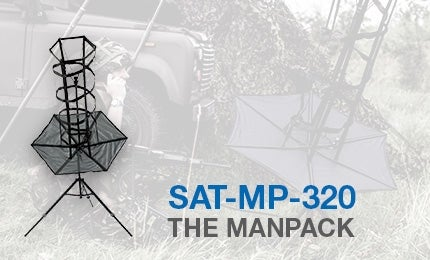 SAT-MP-320 portable helical