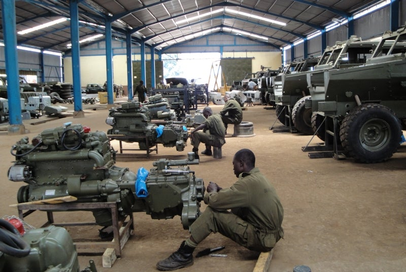 Military vehicle remanufacture programmes