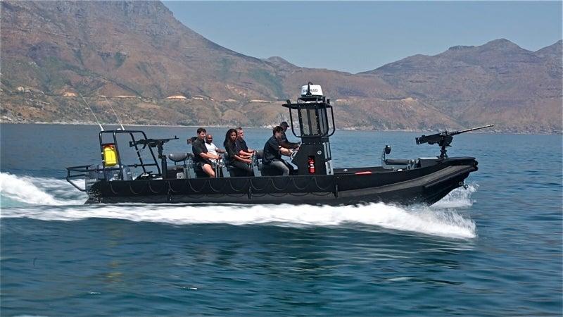Rugged patrol boat