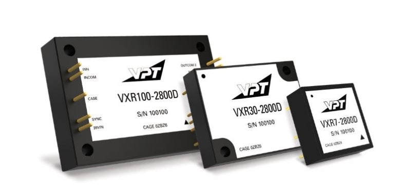 VPT released VXR series DC-DC converters