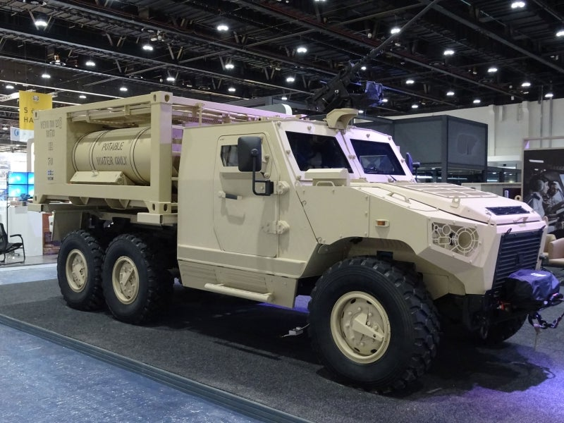 NIMR showcases water resupply with WEW at IDEX 2017