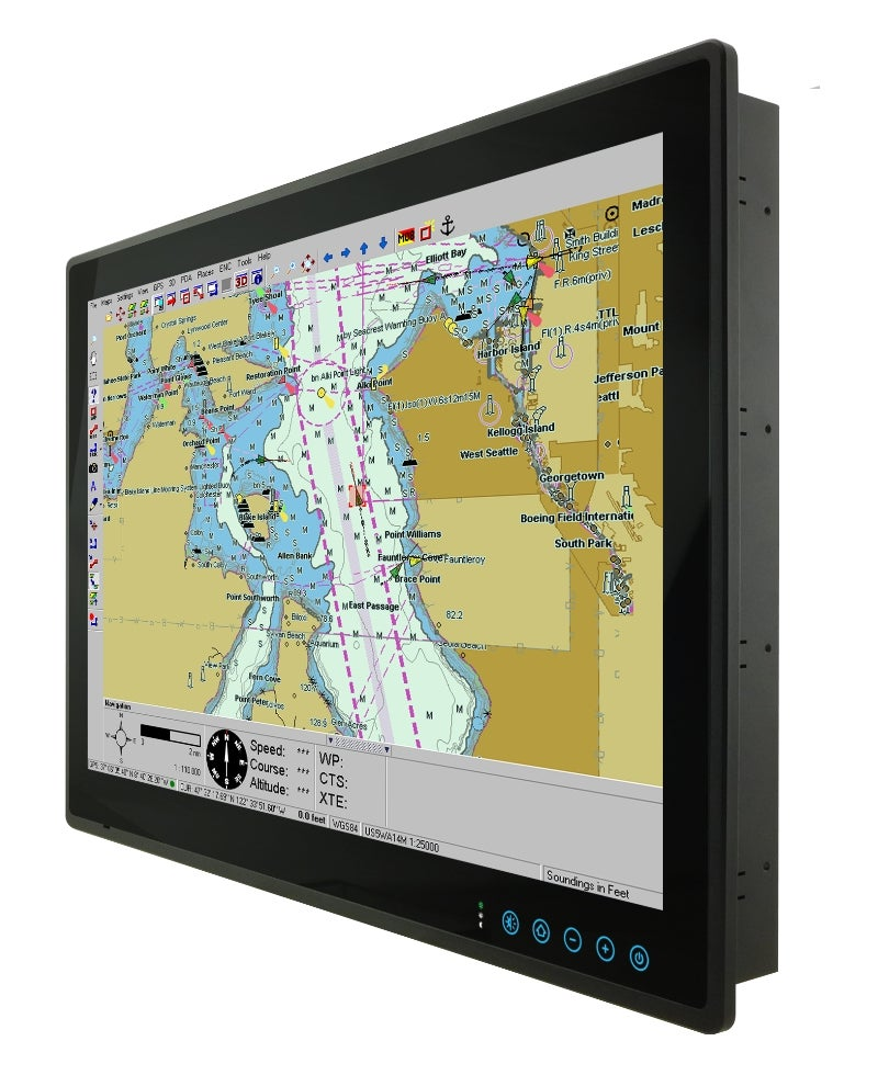 Marine panel PC and display