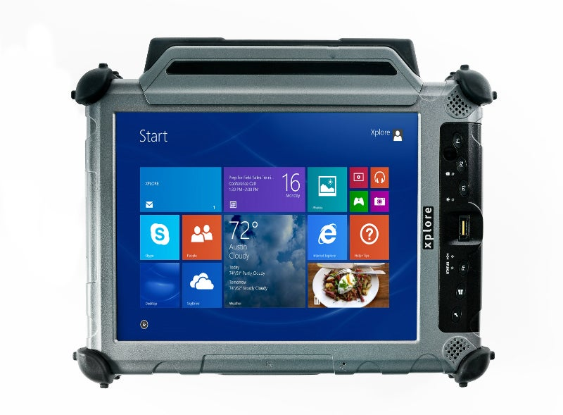 Ultra-rugged tablet PC