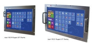 Aqeri launches new rugged displays for adverse environments.