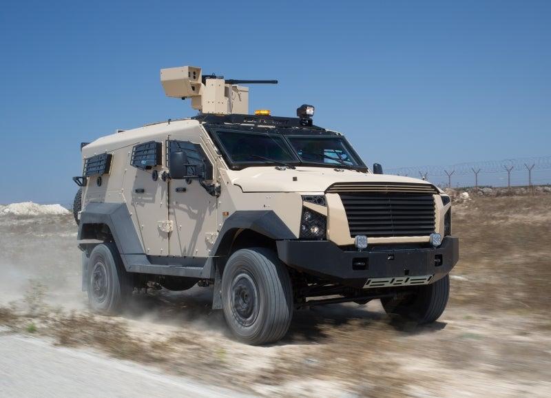 SandCat 4x4 armoured vehicles