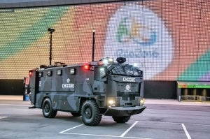 Plasan's Guarder supports security at Rio 2016